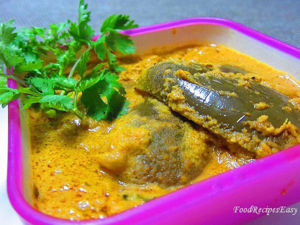 Gutti vankaya gasagasala kura recipe