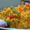 Tomato Peas Pulao – Mutter Enriched Tomato Rice Recipe