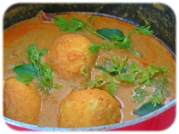 Egg Masala Gravy Recipe