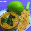 Mango Dal Mamidikaya Pappu Recipe