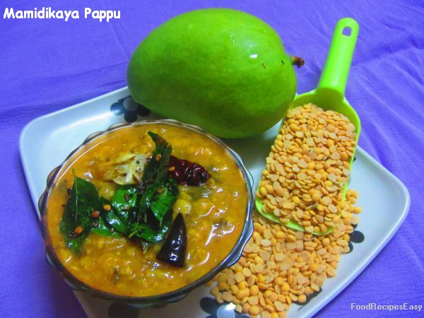 Mamidikaya Pappu recipe Andhra style
