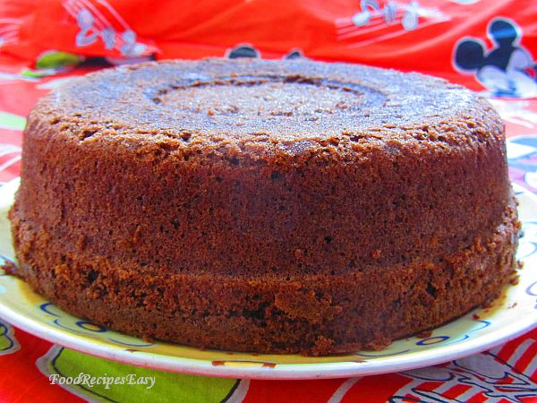 homemade easy chocolate cake recipe from scratch