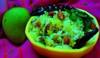 Mamidikaya Pulihora Recipe