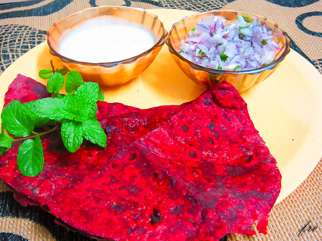 Make Beetroot Chapati recipe