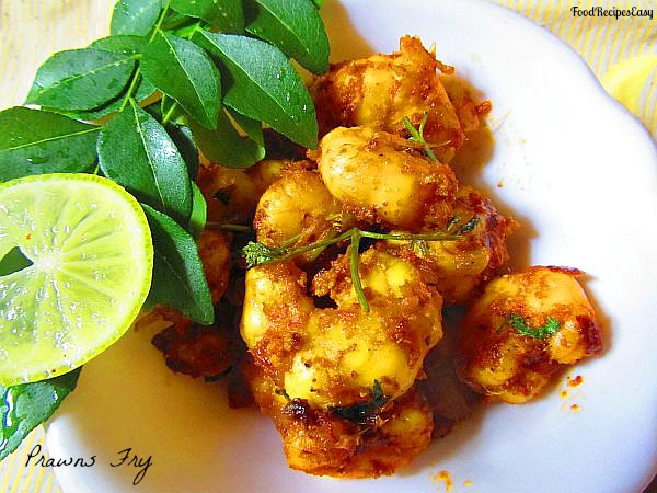 how to make prawns fry recipe