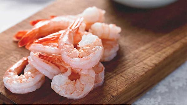 prawns ready to cook