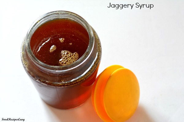 homemade jaggery syrup