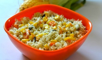 easy sweet corn pulao