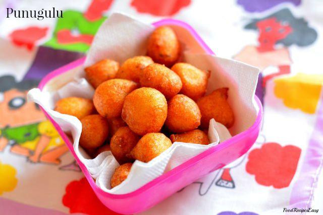 crispy Andhra punugulu recipe