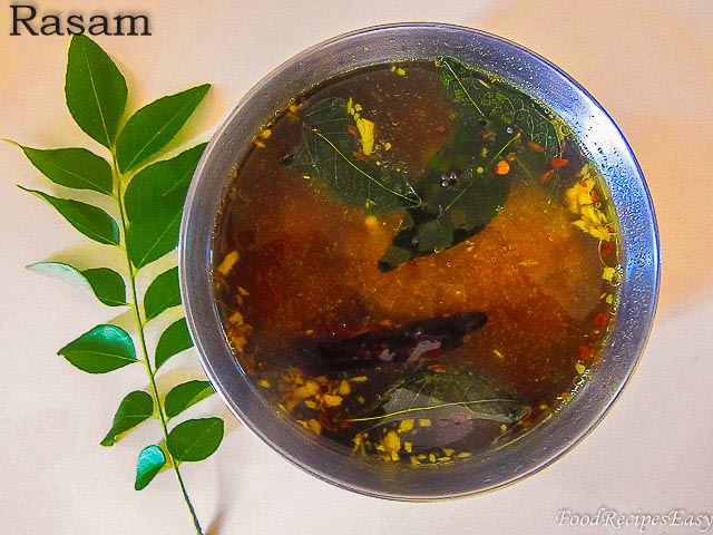 easy rasam recipe without rasam powder