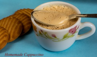 homemade cappuccino recipe