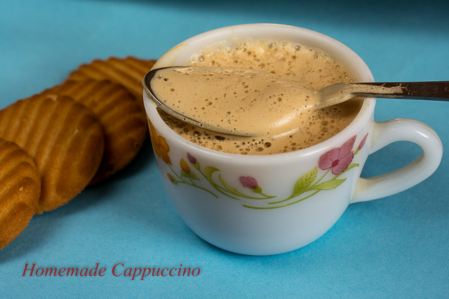Frothy Homemade Cappuccino Recipe