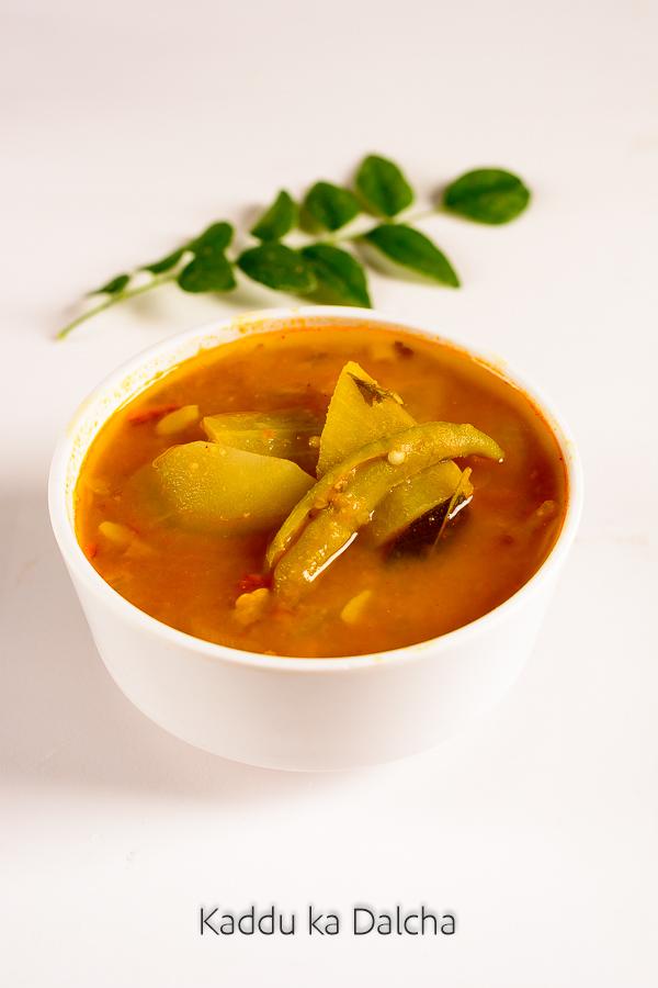 Hyderabadi kaddu ka dalcha recipe