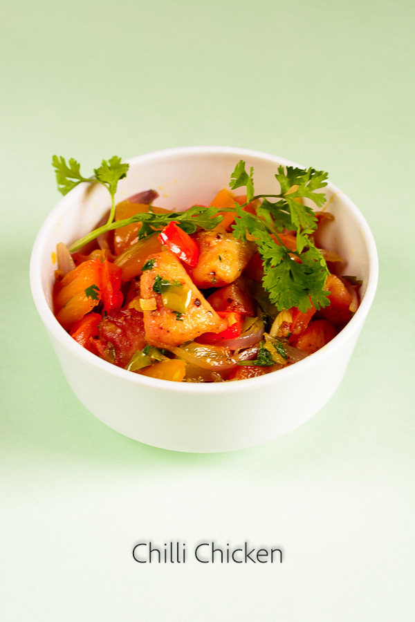 homemade chilli chicken recipe